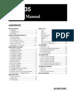 Alinco DR-135T Service Manual
