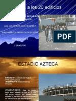 20 Edificios  y visitas Jonathan Cruz angeles