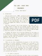 PLJ Volume 44 Number 1 -03- Vicente Abad Santos - Civil Law - Part Two