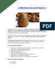 Beneficios y Alimentos Ricos en Omega 6 y Omega 3