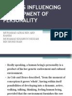 Factors Influencing Development Of