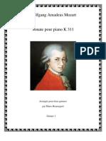 Mozart SonateK311 G1