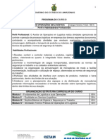 Ementa e Plano de Cruso_Auxiliar de Operações em Logística