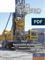 Revista Equipo Minero Marzo