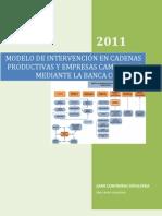 Modelo Cadenas Productivas y Banca Comunal