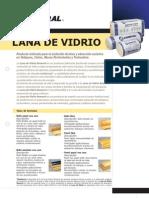 Ficha Técnica Lana de Vidrio