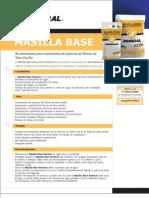 Ficha Técnica Masilla Base