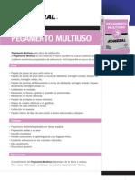Ficha Técnica Pegamento Multiuso