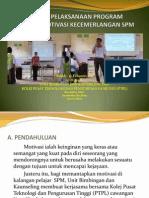 Laporan Ceramah Motivasi Kecemerlangan SPM Bersama PTPL