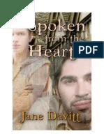 Davitt, Jane - Spoken From the Heart