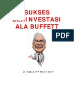 Sukses Berinvestas Ala Warren Buffet