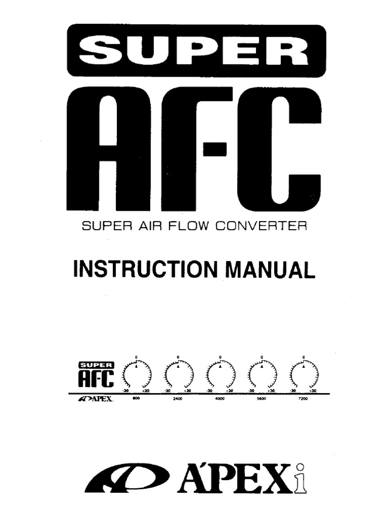 Afc Manual 5button