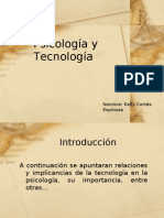 Psicología y Tecnología