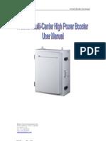 WCDMA Booster User Manual