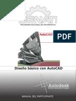 Manual diseño básico con AutoCAD