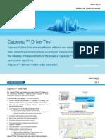 Capesso Drive Test Brochure