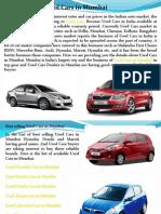 Used Cars in Mumbai