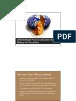 Interest Based Finance and Global Warming (Presentation)