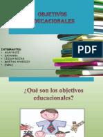 objetivos educacionales