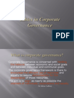 Ethics in Corporate Gov