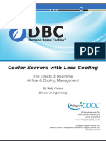 Cooler Servers With Less Cooling