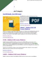 USB Creator Tools - Windows Based _ USB Pen Drive Linux
