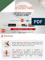 Sondage sur la pénalisation de la consultation de sites pro-terroristes - Avril 2012