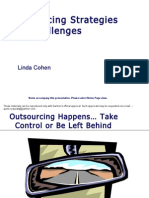 Outsourcing Strategies Challenges