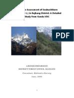 Resource Assessment of Seabuckthorn_Hippophae L