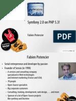 Php Barcelona Symfony 2 0 on PHP 5 3