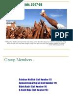 Global Food Crisis, 2007-08 - Final PPT
