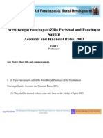 Wb Zp and Ps Finance and Accounts Rules 2003