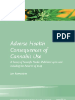Adverse Health Consequences Cannabis