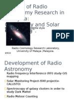 PPT Radio Astronomy in Sokendai