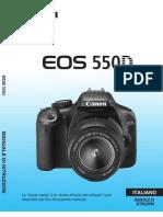 Manuale Canon 550