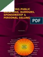 pr, publicity & sponsorship 2008