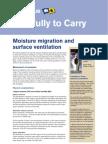 Moisture Migration