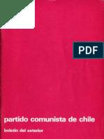 Boletín del Exterior Partido Comunista de Chile Nº17