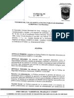 Acuerdo #086 de 2011
