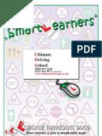 Ultimate Driving School Leeds Lessons Handout