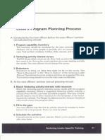 handout 9 - crew's program planning process