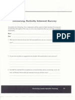 handout 11- venturing activity interest survey