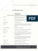 handout 14 - five month plan