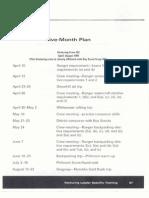 handout 14 - five month plan