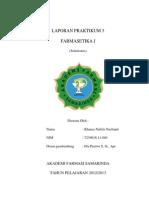 laporan farmaset 3