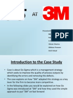 3M and Six Sigma