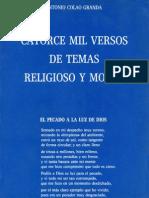Catorce mil Versos de Temas Religioso y Moral