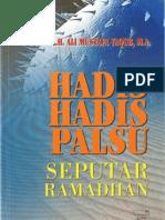 Hadis-Hadis Palsu Seputar Ramadhan