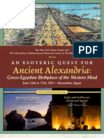 Alexandria (Was the Capital of Egypt and Gnostic Practices)