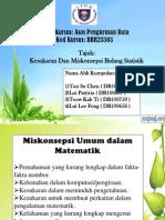 Presentation Statistik